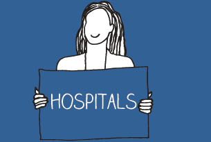 Hospitals and healthcare