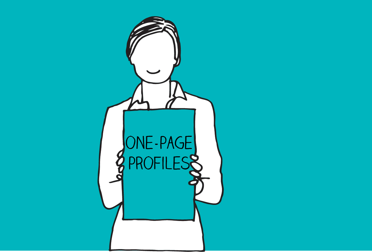 One-page profile | HSA | Personalisation | Consultancy