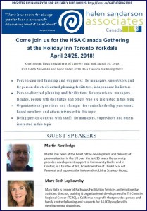 Canada Gathering Event Flyer